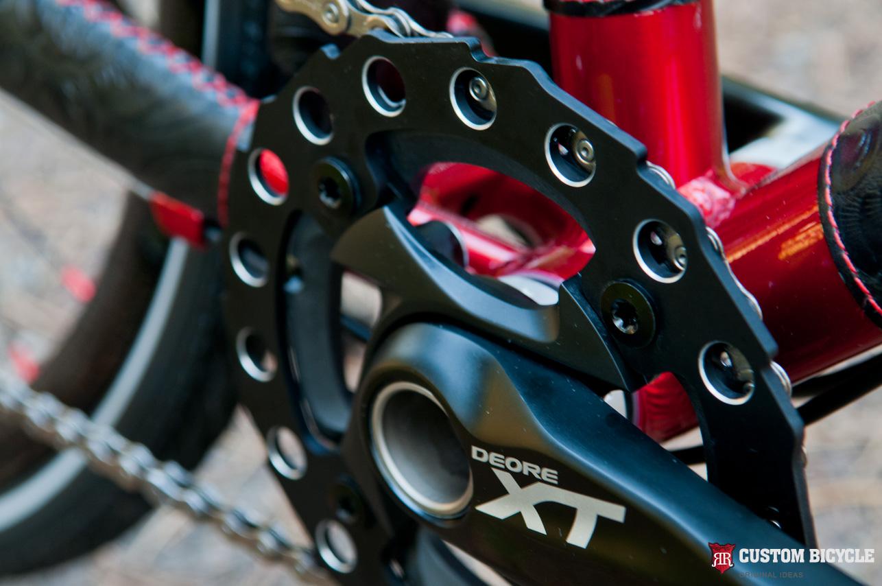 Chainwheel – Shimano Deore XT 1 Speed FC-M750 32T